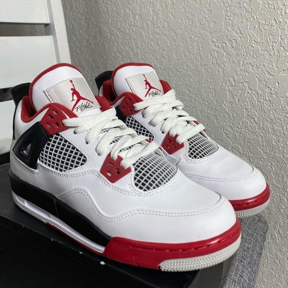 AIR JORDAN 4 RETRO 'FIRE RED' 2012